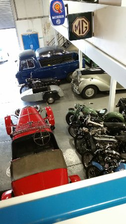 Moretonhampstead, UK: Some of the iconic cars in the museum...