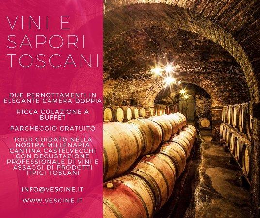 Il Borgo di Vescine - Relais del Chianti: Vini e Sapori