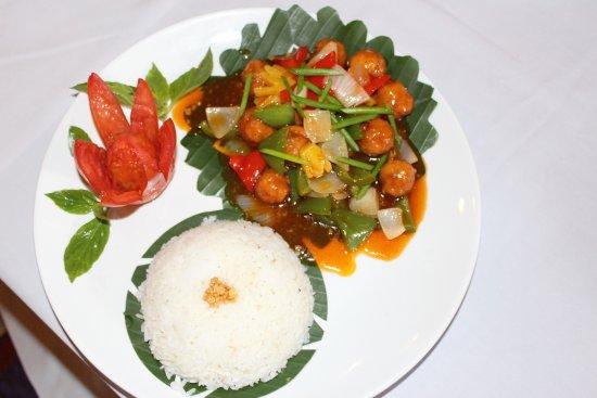 Tanei Boutique Villa: Cambodia Food
