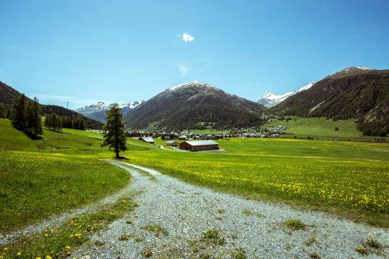 Madulain, Switzerland: OUTDOOR