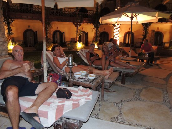 Dahab Paradise: Partying late into the night with a our new friends.