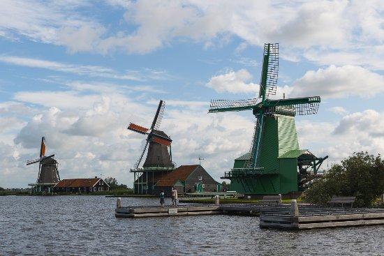 Zaanse Schans: Windmills