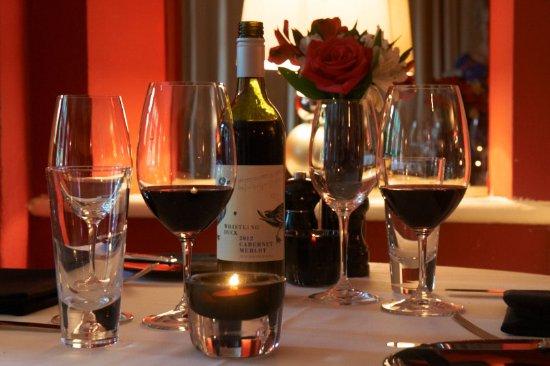 The Crown Hotel, Exford: Crown hotel restaurant