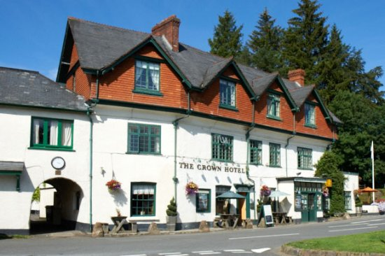 The Crown Hotel, Exford: Crown Hotel Front