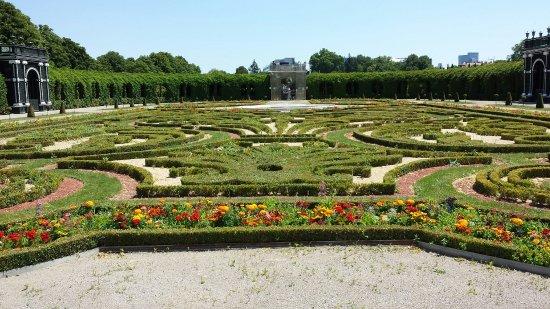 Privy Garden / Kronprinzengarten de Schönbrunn