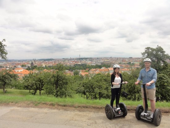 Prague Segway tours EasySegway: View of the City from the Segways