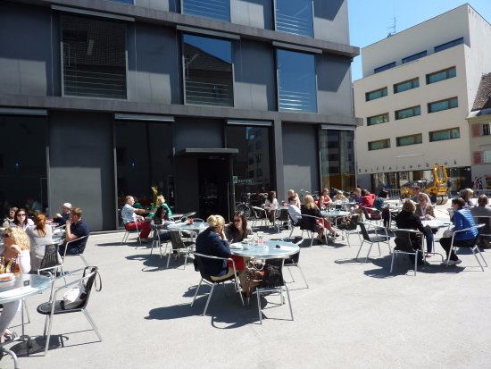 Terrasse Picture of KUB Cafe Bregenz TripAdvisor