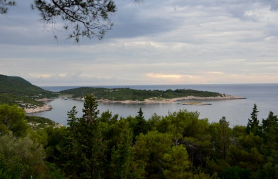 Island of Vis, Croacia: View from Fort George