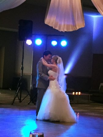 The Hotel at Kirkwood Center: First dance - dance floor in reception hall