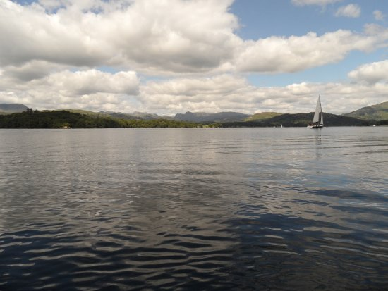 Sail 'n' Dine: Western fells in the distance