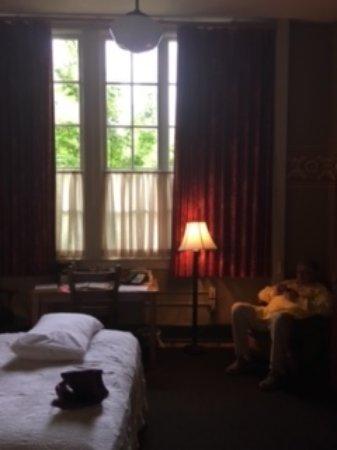 McMenamins Kennedy School: Large window
