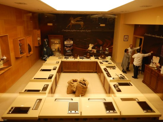 Fábrica de chocolates Perugina: Curso de cocina