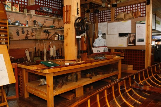 Muskoka Boat & Heritage Centre: Boat Builders Workshop