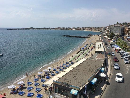 Hotel Palladio: Widok z restauracji