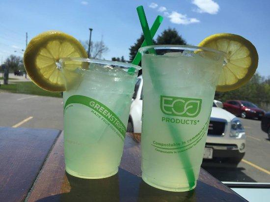 Shawano, WI: Enjoy a ice cold cup of lemonade.