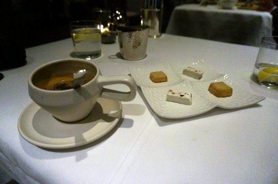 ‪‪Michael Mina‬: Espresso and PETIT FOURS‬