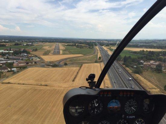 Charnay-les-Macon, Frankrig: Déjà le retour avec la piste en vue