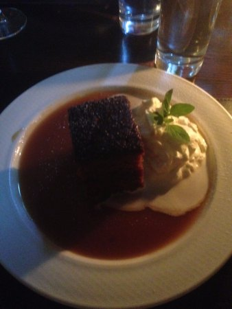 Packie's: pudding