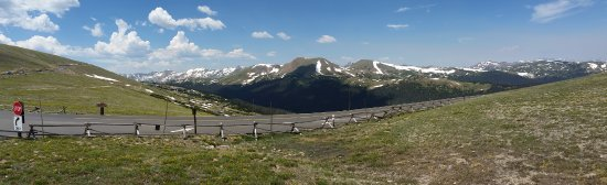 Rams Horn Village Resort: View from Alpine Visitors Center - 11,796 ft.