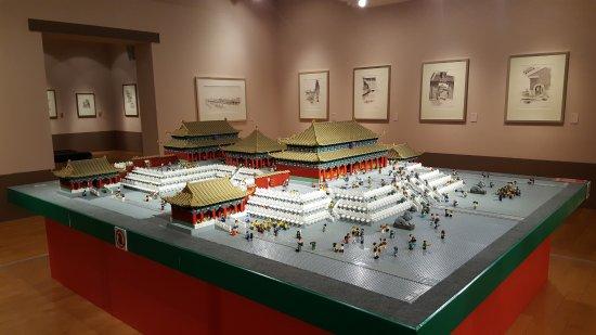 Macau Museum of Art : The Forbidden City - LOGO MODEL