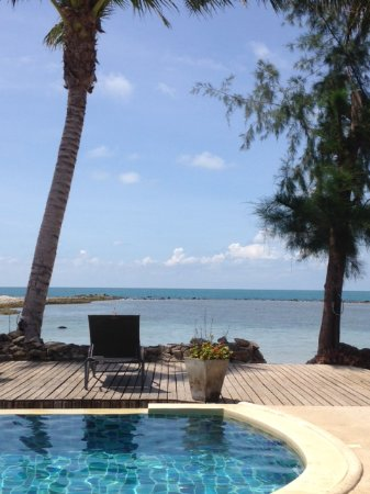Samahita Retreat: View while having your breakfast...
