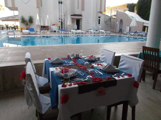 Sun Maritim: Dziękuję obsłudze za pięknie przygotowany dla nas stół na moje urodziny :))