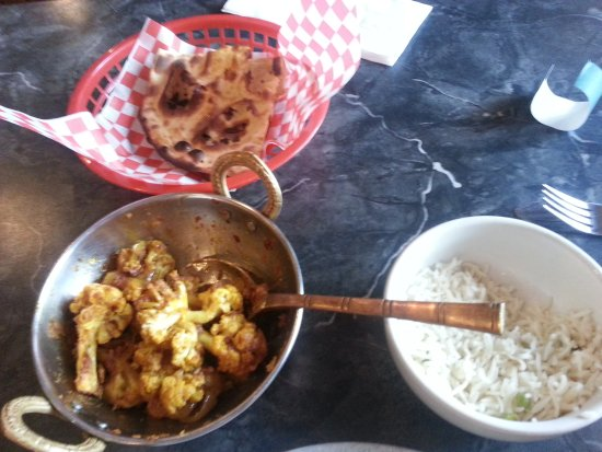 Aloo Gobi from Holy Spice in Thompson, Manitoba...so good!
