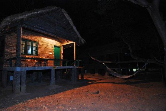 Bannerghatta Nature Camp : Loghut exterior