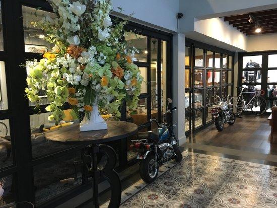 Nandha Hotel: Lobby