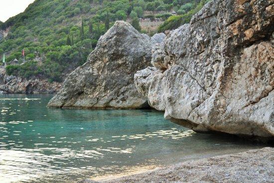 Liapades, Grecja: Чистейшая вода с утра