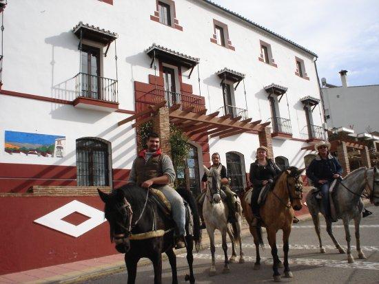 Jubrique, Spanien: Caballos