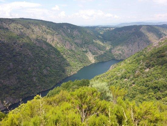 Провинция Оренсе, Испания: Vista del Cañón