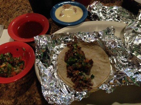 La Granja Mexican Restaurant : Tacos Carne Asada