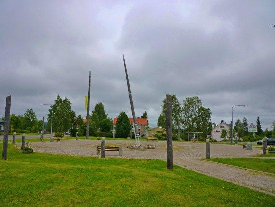 Pajala, Szwecja: The Sundial