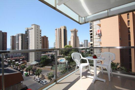 Hotel Perla: Balcony