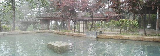 Minhou County, China: Hot Spring Source d'eau chaude