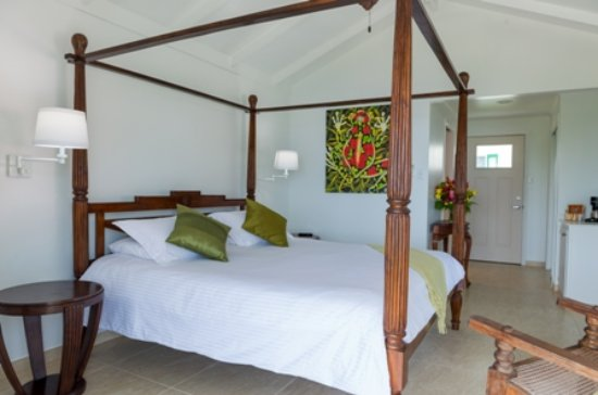 Windwardside, Isla de Saba: Ocean-view room
