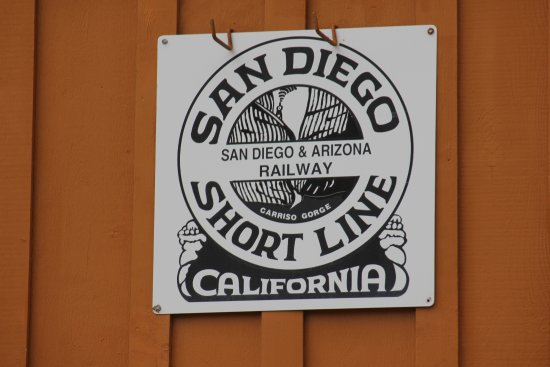 Campo, Californie : old sign
