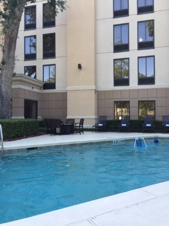 Hampton Inn Jacksonville/Ponte Vedra Beach-Mayo Clinic Area: pool view