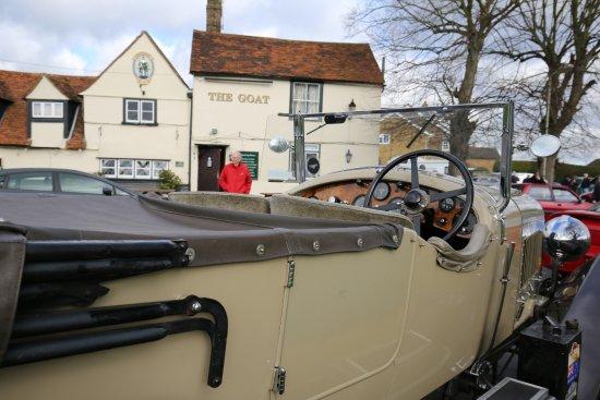 the goat hertford heath classic car meet ups