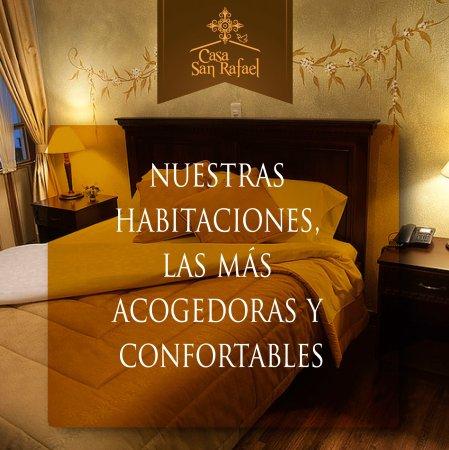 Casa San Rafael: HABITACIONES