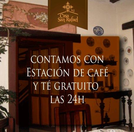 Casa San Rafael: ESTACION DE CAFE Y TE
