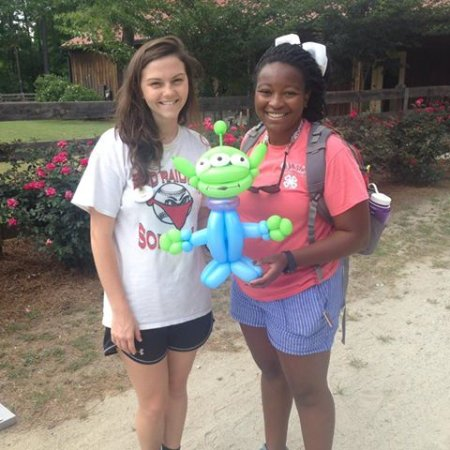 Eatonton, GA: wonderful summer camp staff