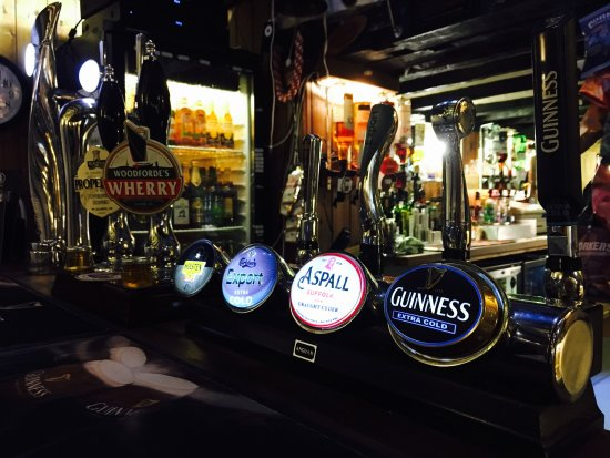 Watton, UK: Our Draught Drinks