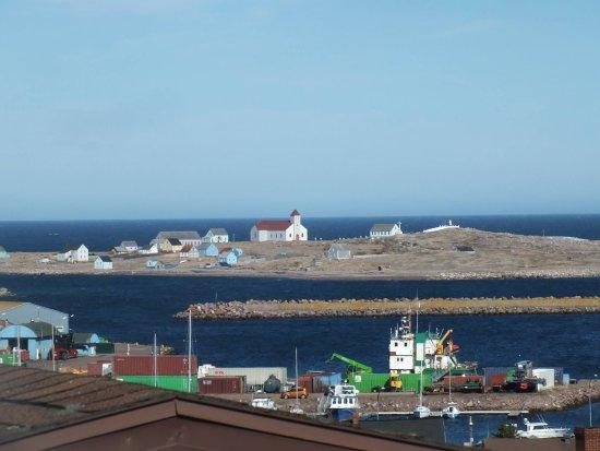 Saint-Pierre: Une partie de la vue panoramique