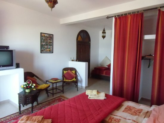 Villa Sunset : Zimmer Ksar für 2 bis 3 Personen