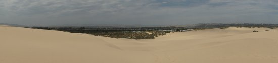 Pacific Dunes Ranch RV Resort: RV Park on the edge of the dunes (Panorama Pic)