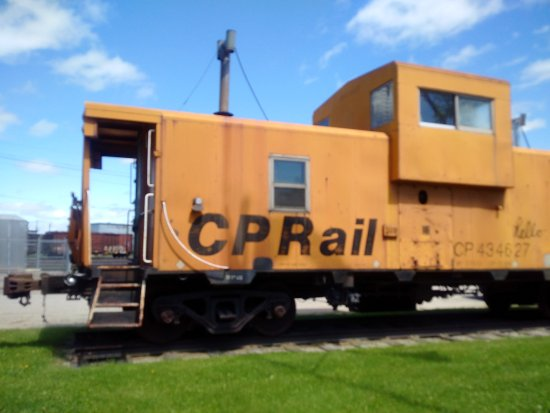 CP Rail caboose located in Chapleau