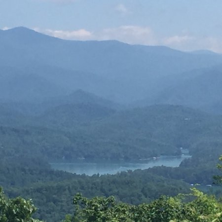 Almond, NC: Front Porch View