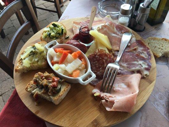Magione, Ιταλία: A pranzo si fa così